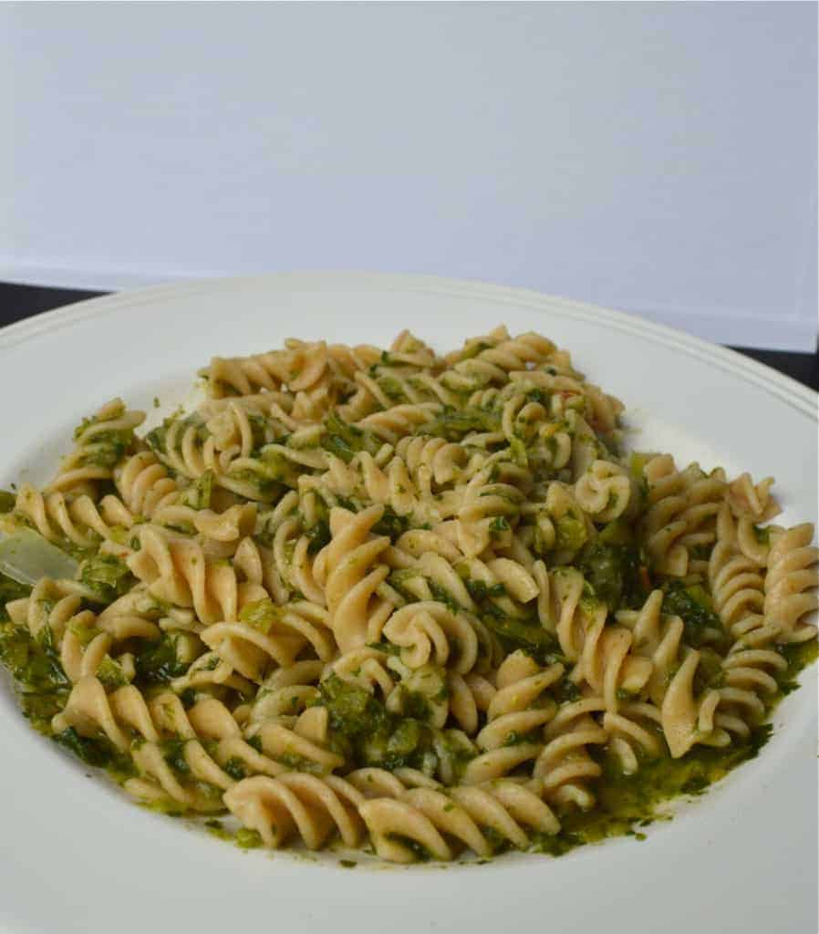 Basil and Spinach Pasta