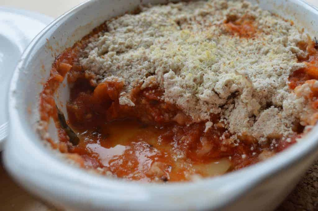 Tomato Crumble