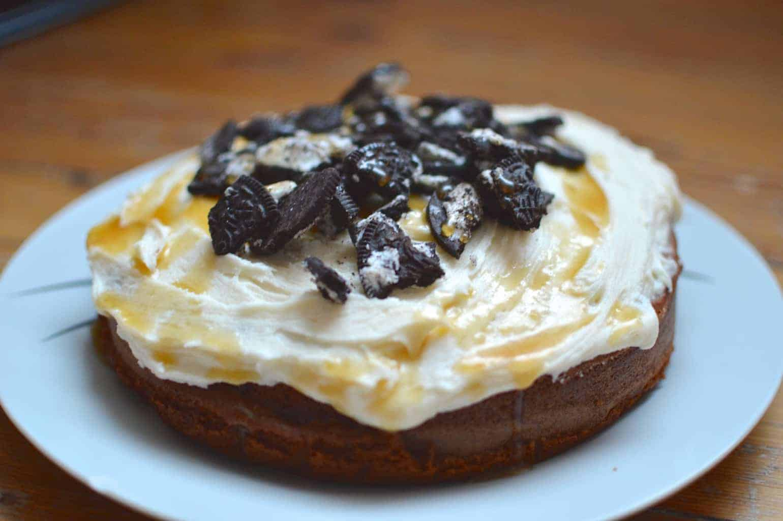 Chocolate Porter & Oreo Cake