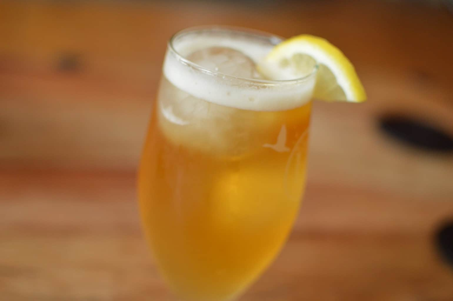 The Beer's Knees – Beer Cocktail
