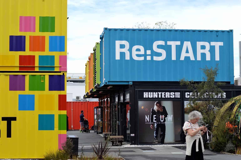Re:Start Mall, Christchurch