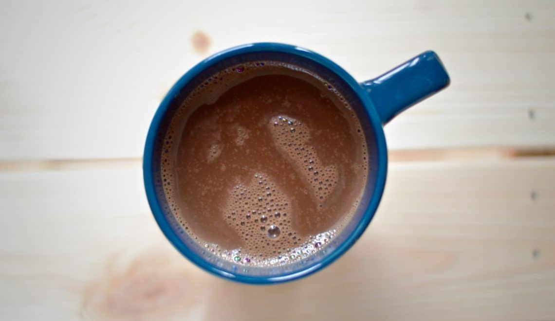 Sea salt hot chocolate