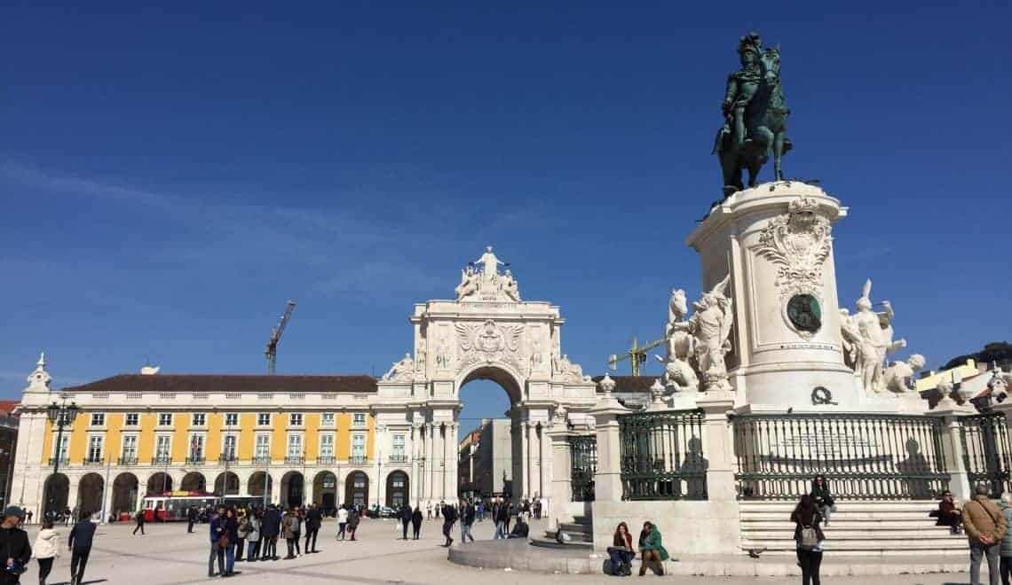 Praça do Comércio - A relaxed 72 hours in Lisbon