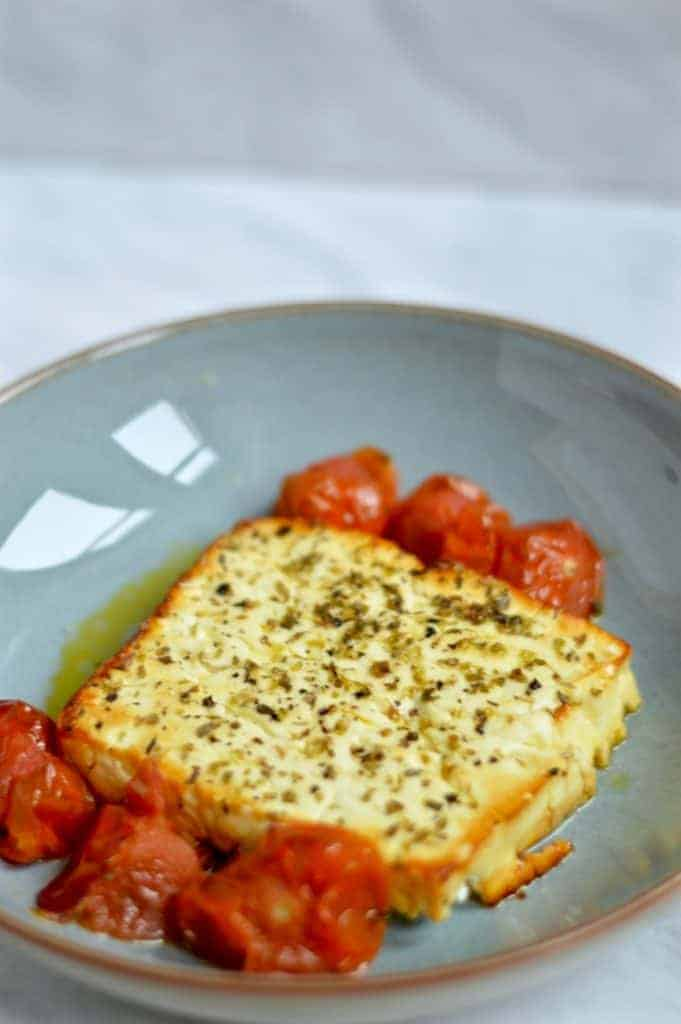 baked feta - super easy one pound meals