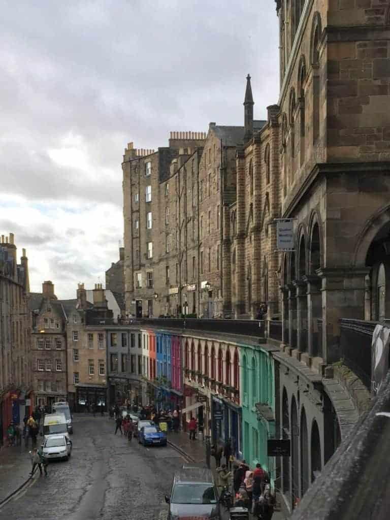 Victoria Street - eating edinburgh